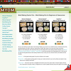 Beginner Mold Making Kits – Convenient Starter Kit for Mold Making | MakeYourOwnMolds.com