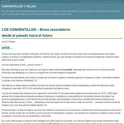 CONVENTILLOS Y VILLAS