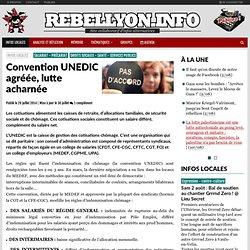 Convention UNEDIC agréée, lutte acharnée
