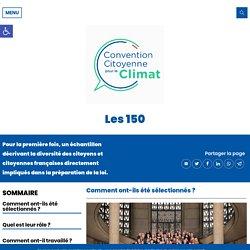 Les 150 - Convention Citoyenne pour le Climat