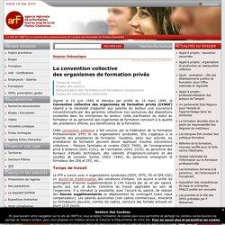 Convention collective des organismes de formation privés