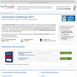 Conventions Collectives 2012 des journaux officiels
