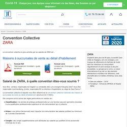 Convention Collective ZARA