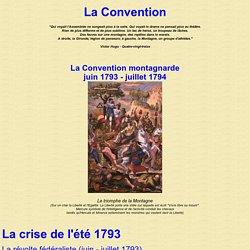 La Convention - La Convention Montagnarde - Juin 1793 - Juillet 1794