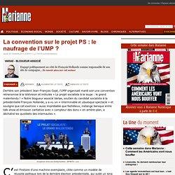 La convention sur le projet PS : le naufrage de l'UMP ?