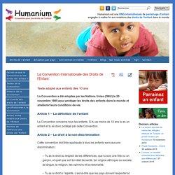 Convention relative aux droits de l'enfant adaptée aux enfants dès 10 ans