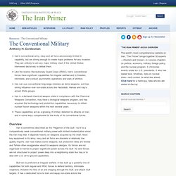 The Conventional Military