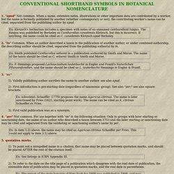 CONVENTIONAL SHORTHAND SYMBOLS