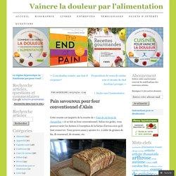 Pain savoureux pour four conventionnel d'Alain