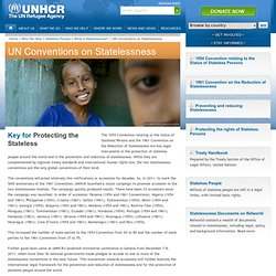UN Conventions on Statelessness