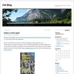 Cdr Blog: digital convergence, business strategy, innovation