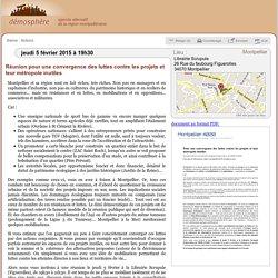 5 févr.: Réunion pour une convergence des luttes... / Montpellier
