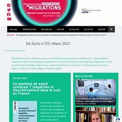 Mars 2021 - Institut Convergences Migrations