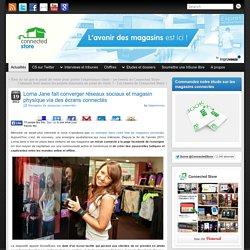 Lorna Jane fait converger réseaux sociaux et magasin physique via des écrans connectés