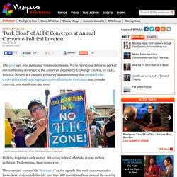 'Dark Cloud' of ALEC Converges at Annual Corporate-Political Lovefest