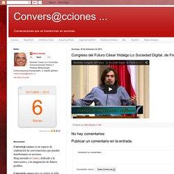 Congreso del Futuro César Hidalgo Lo Sociedad Digital, de Frente a Nuevos ...