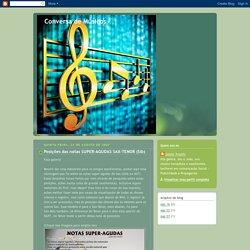 Conversa de Músicos: Posições das notas SUPER-AGUDAS SAX-TENOR (Sib)