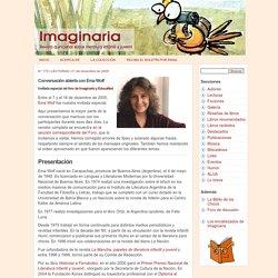 Conversación abierta con Ema Wolf - Imaginaria No. 170 - 21 de diciembre de 2005