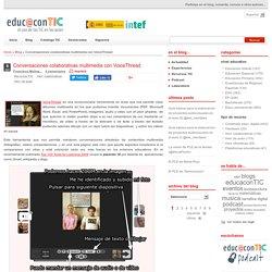 Conversaciones colaborativas multimedia con VoiceThread