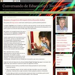 Siemens y la apertura del espacio de la educación #cck12