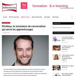 Pitchboy, le simulateur de conversation qui ancre les apprentissages