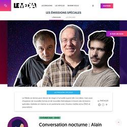 Conversation nocturne : Alain Damasio, Denis Robert, Juan Branco