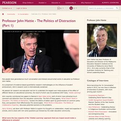 In Conversation with Professor John Hattie