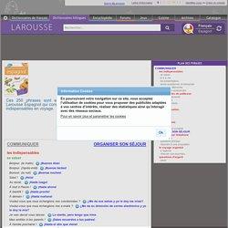Guides de conversation Larousse français/espagnol