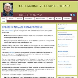 CREATING INTIMATE CONVERSATIONS » COLLABORATIVE COUPLE THERAPY