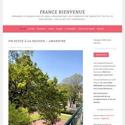 France Bienvenue – Apprendre le français avec de vraies conversations, leur transcription complète et toutes les explications – Vous allez tout comprendre !