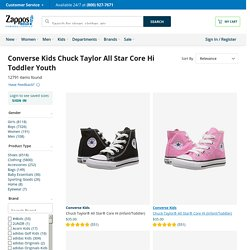 Converse Kids Chuck Taylor® All Star® Core Hi (Toddler/Youth) Black