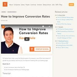 How to Improve Conversion Rates: Growth, Building Product