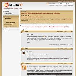 [Résolu]Conversion .mp4 en .mp3 (6.06) / Lecture et configuration multimédia