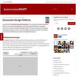 Conversion Design Patterns