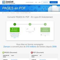 Zamzar - Conversion de fichiers en ligne gratuit
