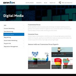 Conversion Focused Web Design and Development