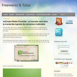 un nouveau venu dans le monde des logiciels de conversion multimédia