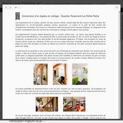 Conversion d'un duplex en cottage - Quartier Rosemont-La-Petite-Patrie