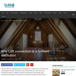 Why Loft conversion is a brilliant resolution - Witch Hunter Online