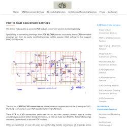 PDF To Cad