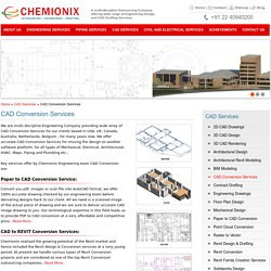 CAD Conversion Services - Chemionix