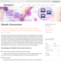 Ebook Conversion Specialist
