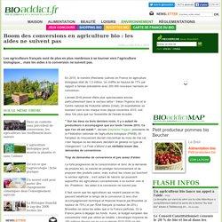 Boom des conversions en agriculture bio : les aides ne suivent pas