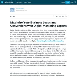 Maximize Your Business Leads and Conversions with Digital Marketing Experts: seoexpertsla — LiveJournal