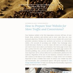How to Prepare Your Website for More Traffic and Conversions? – Nitrous Graphics – Web Design Company in Sutherland Shire