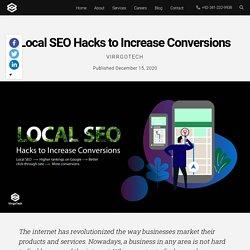 Local SEO Hacks to Increase Conversions