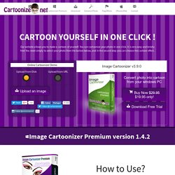 Convert to Cartoon — Convert photo to Cartoon — Cartoonize Yourself