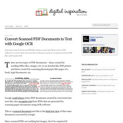 Convert Scanned PDF Documents to Text with Google OCR