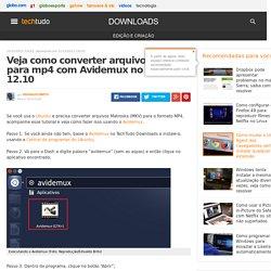 Veja como converter arquivos mkv para mp4 com Avidemux no Ubuntu 12.10