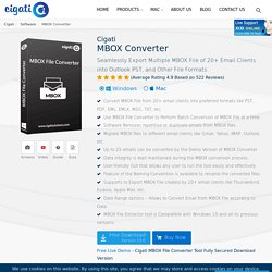 MBOX Converter Tool to Convert MBOX File to Various Format